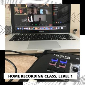 Home recording class
