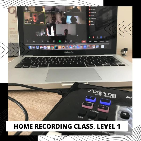 Home recording class