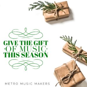 Metro Music Makers gift certificate